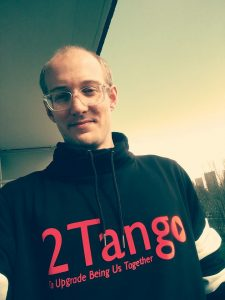 First wearing of the 2Tango clothing