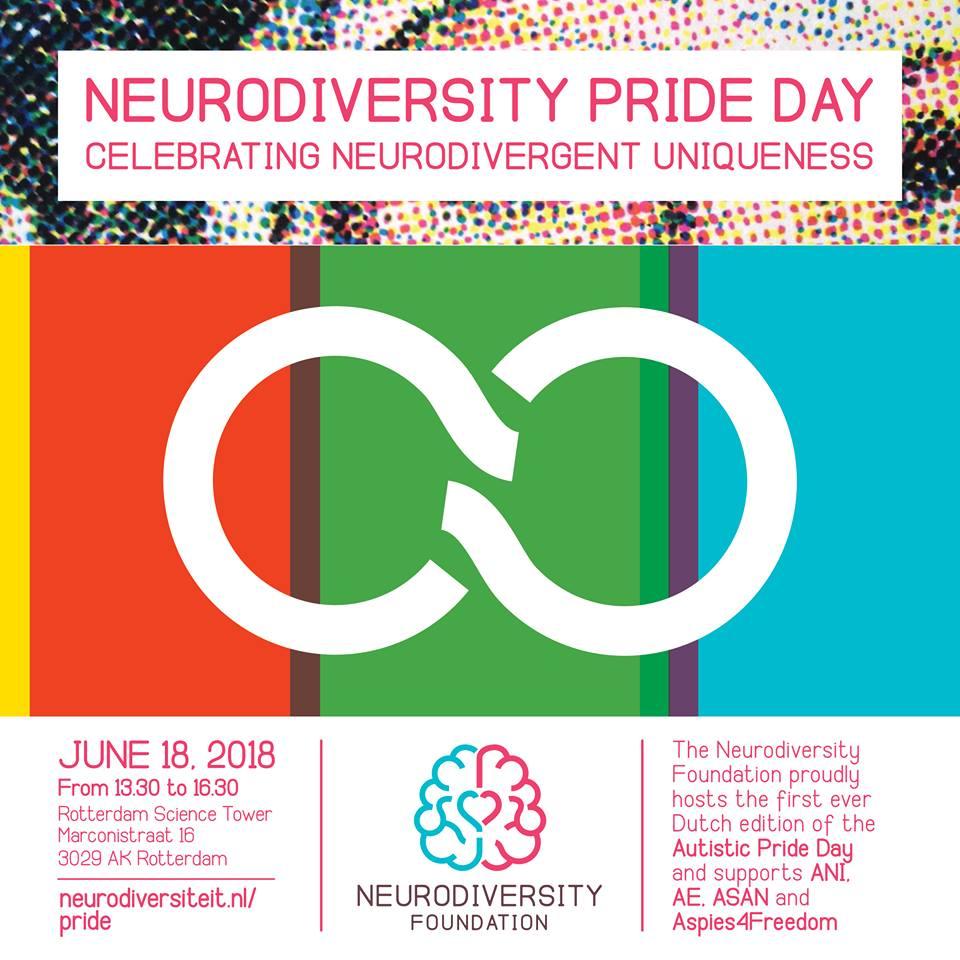 neurodiversity pride day 2018 neurodiversiteit autistic pride day