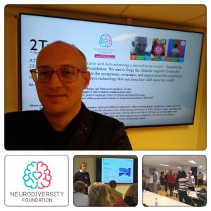 Neurodiversity Foundation pitchting for data behaviour science university