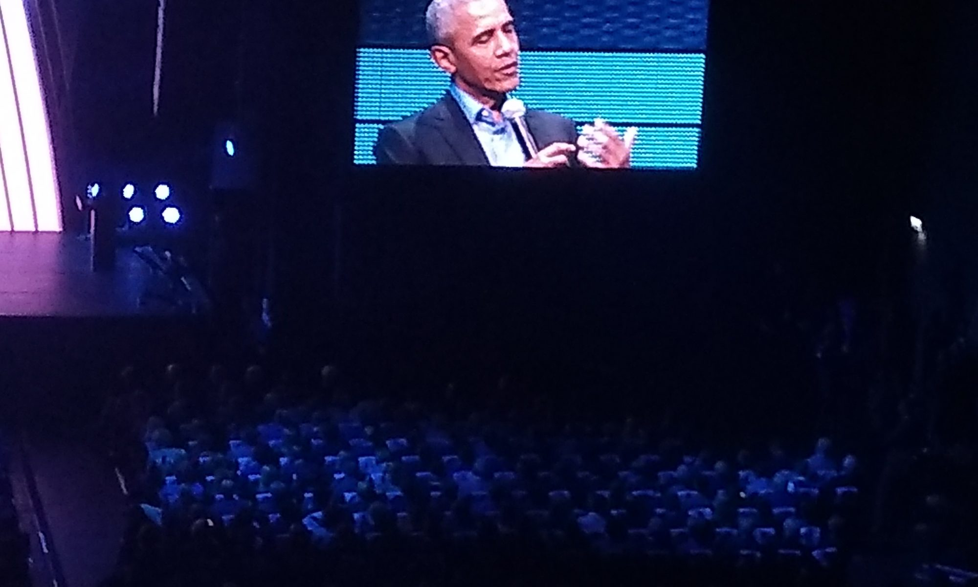 Meeting Obama. From afar.