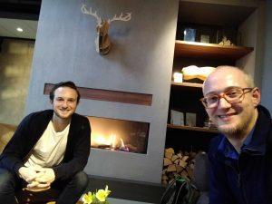 Meeting with Erik