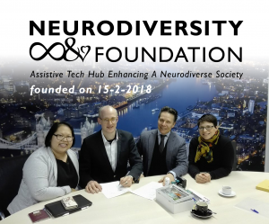 Founding the Neurodiversity Foundation on the day after Valentines Day