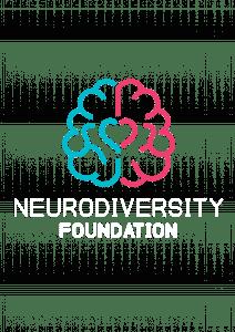 Neurodiversity Foundation Logo white letters