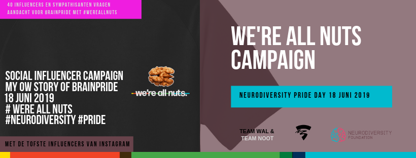 Neurodiversity Pride Day weareallnuts