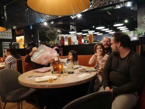 Annual Supper - neurodiverse family