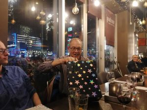 Presents at Annual Supper