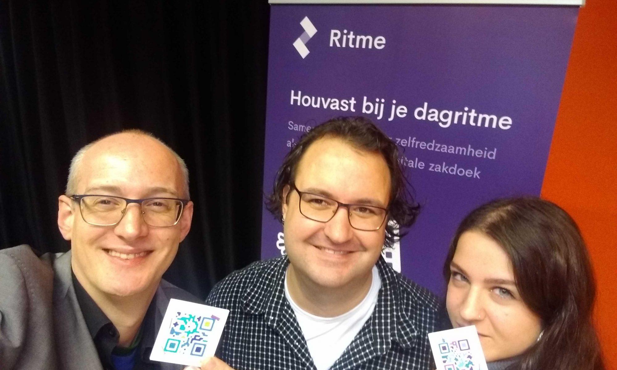 Ontmoeting met Ritme founder of NVA conferentie