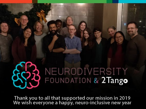 Team of 2019 of the Neurodiversity Foundation and 2Tango