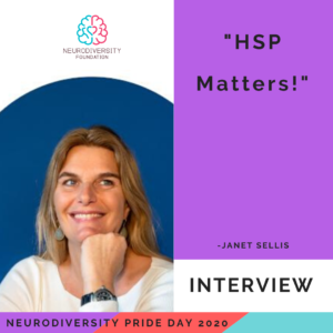 Neurodiversity Pride Day 2020 - Janet