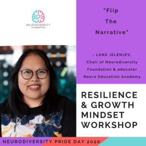 Neurodiversity Pride Day 2020 - Lana Jelenjev