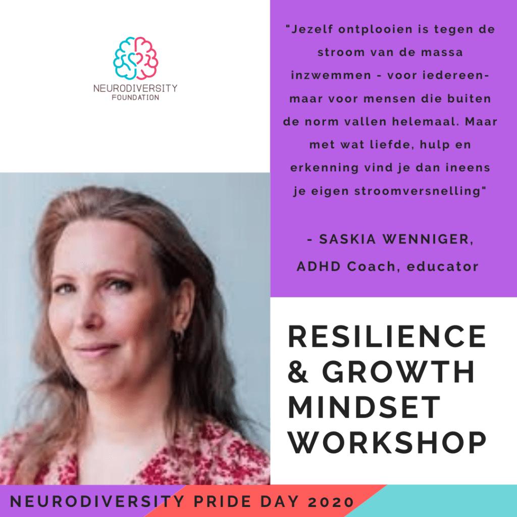 Neurodiversity Pride Day 2020 - Saskia Wenniger
