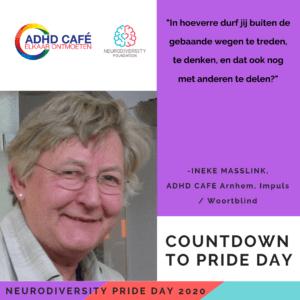 Neurodiversity Pride Day 2020 - Ineke Masselink