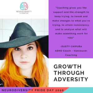Neurodiversity Pride Day 2020 - ruby